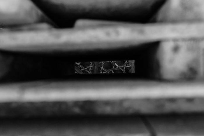 EyeEm Best Edits EyeEm Best Shots EyeEm Best Shots - Black + White EyeEm Gallery FUJIFILM X-T2 Fujifilm_xseries Monochrome No People Selective Focus Stacks  Through A Hole 工房 常滑 常滑焼