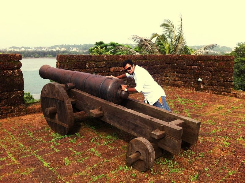 Firing A Cannon