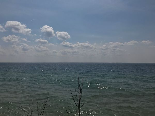 Sea Water Horizon Over Water Nature Sky Tranquility Tranquil Scene Beauty In Nature Scenics No People Outdoors Day Cloud - Sky
