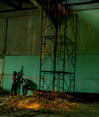 Backgrounds Beautiful Construction Site Fire Firework Display Fireworks Light Light And Shadow Welding Welding Work