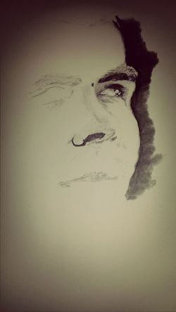 a new work in progress. art of people. MistAke_Arts Art Portrait Blackandwhite
