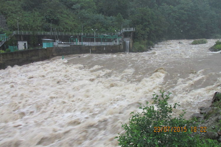 Khmti River in Nepal Amount Of Flood Beauty In Nature Beauty Of Flood Nature Nature Of Flood Power Of Flood Sources Of Hydropower Water