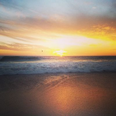 Sunset @ Scarborough beach. Magnificent. Epic. Beautiful. Sunset Perth Beach