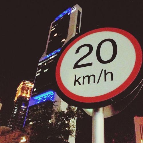 20 km/h Traffic Signal Main Entrance