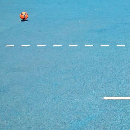 #Blue #citylife #Football #friends #lumiaphoto #minimalist #orange Color #playground #soccer  #SoccersLife #sport #summer #sunshine