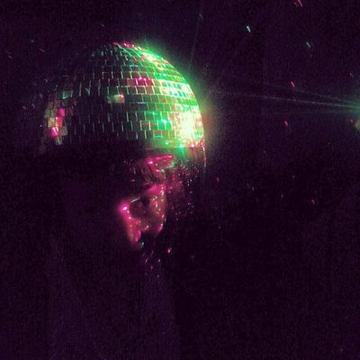 Laser party disco hat