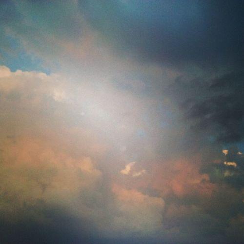 Niebo Heaven Chmury Clouds