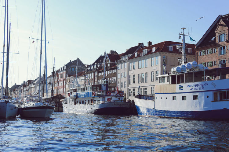 Nautical Vessel Water Transportation Mode Of Transportation Waterfront City Copenhagen Denmark Copenhagen, Denmark Nyhavn Nyhavn Copenhagen Antique Summer No People Canal Sailboat Yacht Landscape_Collection Tadaa Community Tadaa Friends Community Instagood Famous Place Fishing Fisherman
