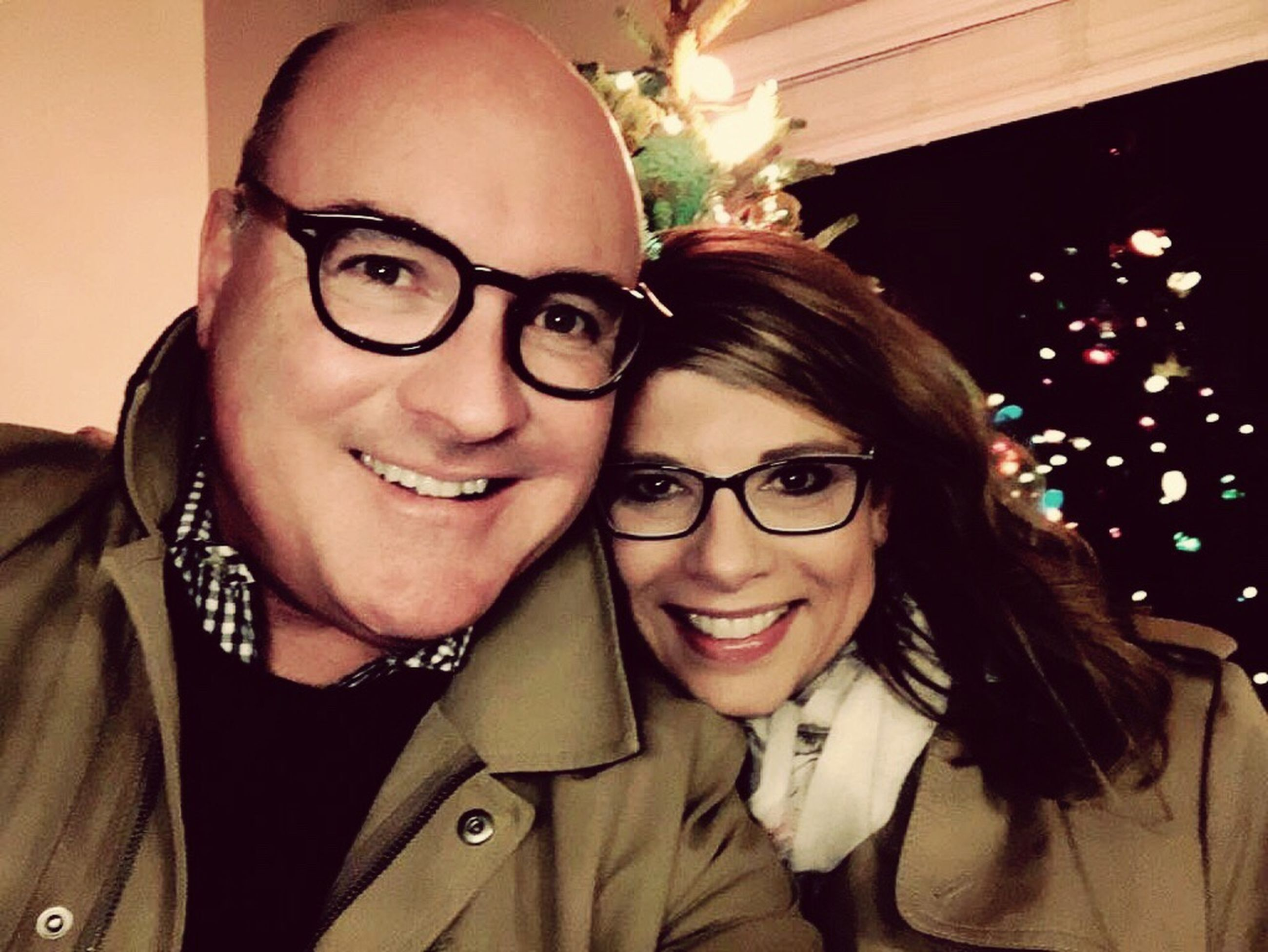 two people, happiness, smiling, adults only, togetherness, portrait, looking at camera, friendship, cheerful, women, adult, people, love, young adult, celebration, only women, eyeglasses, indoors, young women, well-dressed, bonding, night, beautiful woman