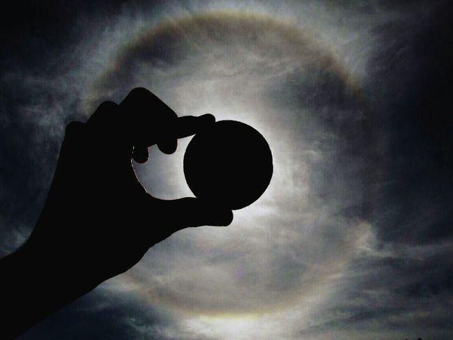 Halo solar Canon Skylove Clouds Clouds And Sky Beautiful Cloudsporn Cielo Buenosaires Pelota