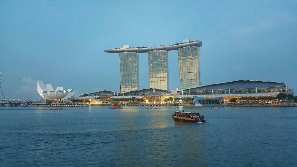 Marinabaysands Architecture Galaxys6 Waterfront