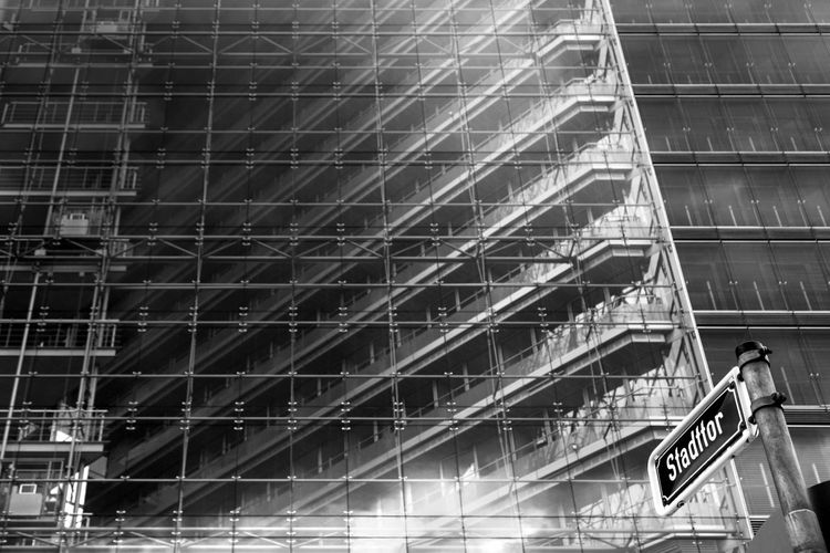 Duesseldorf, Germany Architecture Black And White Blackandwhite Duesseldorf Düsseldorf Schwarzweiß Stadttor Structure The Architect - 2016 EyeEm Awards