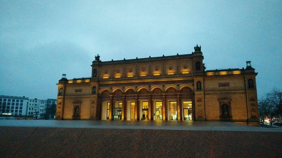 The Hamburger Kunsthalle. · Hamburg Germany 040 Hh Kunsthalle Art Arts Exhibition Gallery Architecture Lighting City Lights City Life