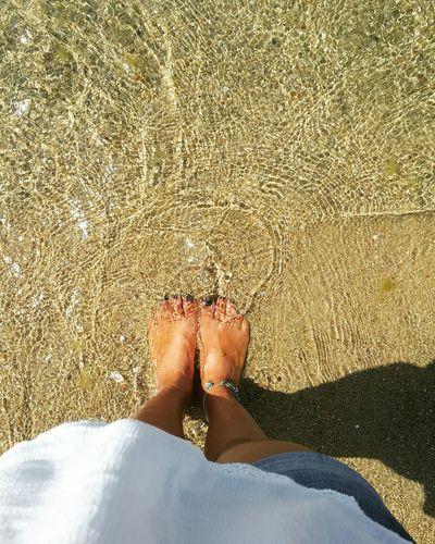 ThatsMe Myfoot Sea Beach Nails Plaj Sahil Water White Denizkumgüneş