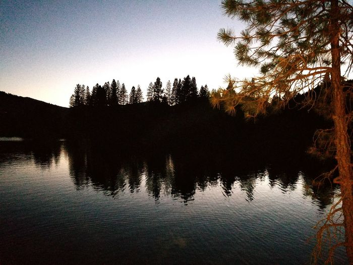 Sunst at lake