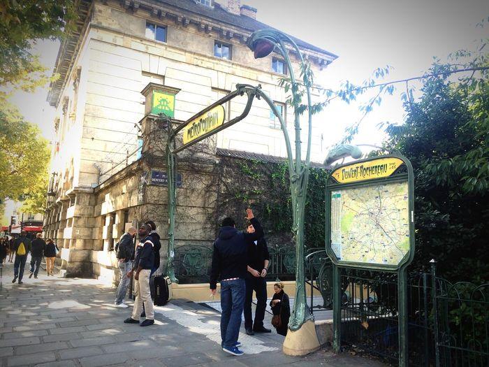 Paris Metro Art Nouveau Streetphotography