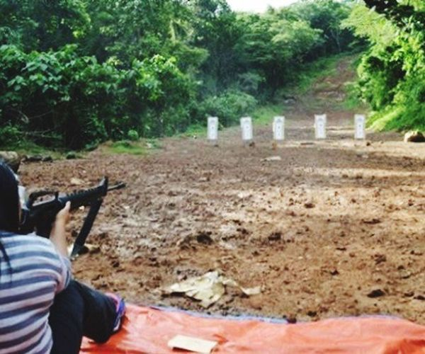 Shooting Riffle Mountain Learning Shootingrange Aim firingrange Firing  bullets Soldier Fire shoot brave