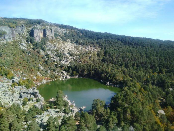 Trees Autumn Colors Walkingaround Landscape Hiking Soria Laguna Negra