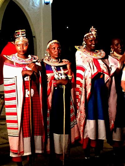 Massai warrior wives Fashion Striking Fashion