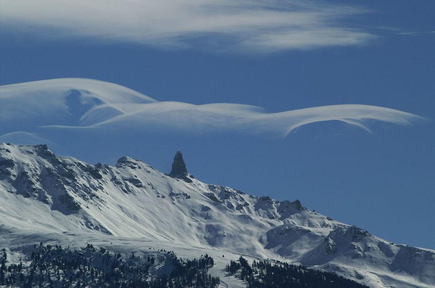 The Magic Mission Schweiz Switzerland Wallis Leuk Winter Föhn Föhnwolken