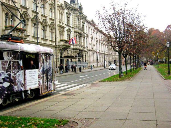 Tramway in Zagreb. Zagreb Croatia Hrvatska Subway Station Train Railway Railroad Enjoying Life Lifestyle