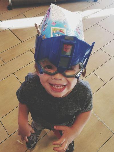 Box On His Head