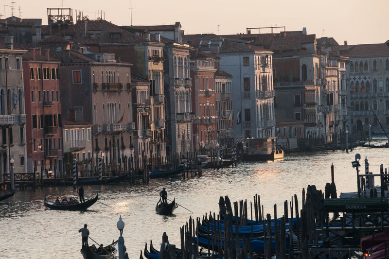 The Grande Canal, Venice Architecture Atmospheric Boat Building Building Exterior Built Structure Canal City City Life Day Gondola Grand Canal Italy Mode Of Transport Nature Nautical Vessel Outdoors Travel Destinations Venice Water Feel The Journey