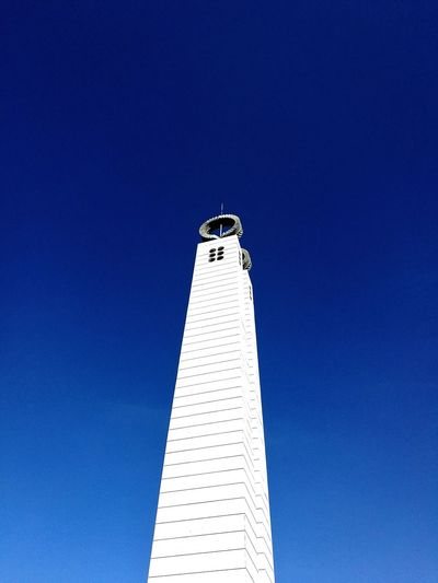 Clear Sky Architecture Low Angle View Blue