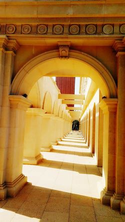 Arch Architecture Corridor Travel Destinations Built Structure The Way Forward Day No People