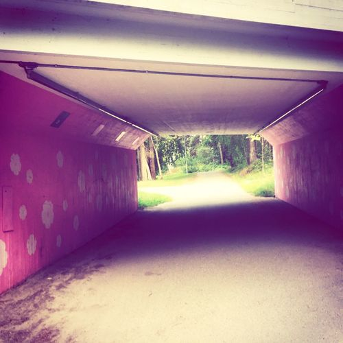 Stockholm, Sweden Archway Outdoors Outdoor Photography Tunnel Park Streetphotography Pinkpolkadots First Eyeem Photo Coulor Of Life