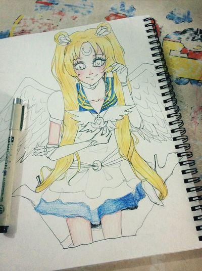 Sailorrrr moon ~ Drawing Anime Cute Sailor Moon