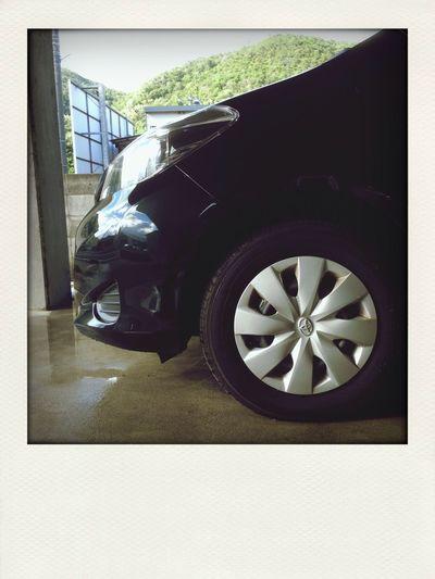 洗車ー Vitz
