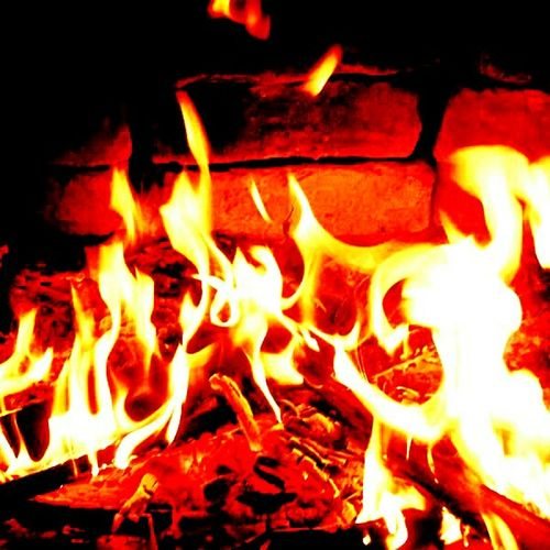 Flame Fire Fire And Flames Fireplace