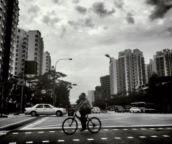 Keeff Morning Commute Singapore Blackandwhite Streetphotography