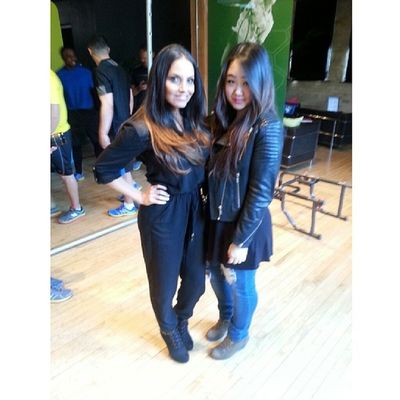 It was a pleasure to meet famous and gorgeous fitness icon, Trish Stratus @trishstratuscom at the @newbalancecanada @strutent media event. NBMediaPreviewDay StrutNB Trishstratus Health healthy fitness femaleempowerment fashion style ootd selca 얼짱 셀카 한국인 instamood instagood fotd