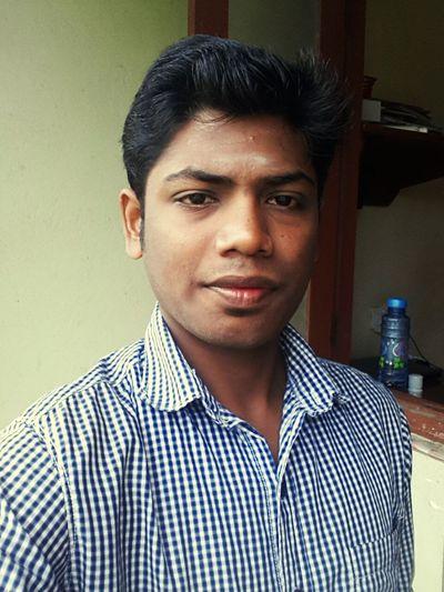 Selfie Portrait Clean Shaved Cute Boy Me Hostel Handsome