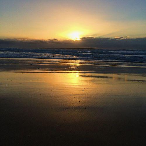 Pretty orange sunrise over the seashore Sunrise Beach Skyline Sunrise And Clouds Sunrise On The Beach Sunrise Reflection Sunrise Colors Ocean Waves Ocean And Sky Ocean Beach Sky And Clouds Sky And Sea Cloudy Sky Orange Sky Orange Sunrise Water Tranquility Beach View Morning Sky Sunshine Day Sunrise Surfing