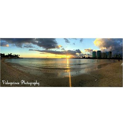 Photography By: @Videoprince Hawaii Oahu Luckywelivehi HiLife 808  Alohastate Beautiful Venturehawaii Instagram Instatravel Hnnsunrise Photographer Cameralife Photography Cameraready Beach Sand Ocean Beachlover Justlivinglife Sunset Hawaiiansky Hawaiiansunset Landscape Panoramic alamonanabeach magicisland alamonana