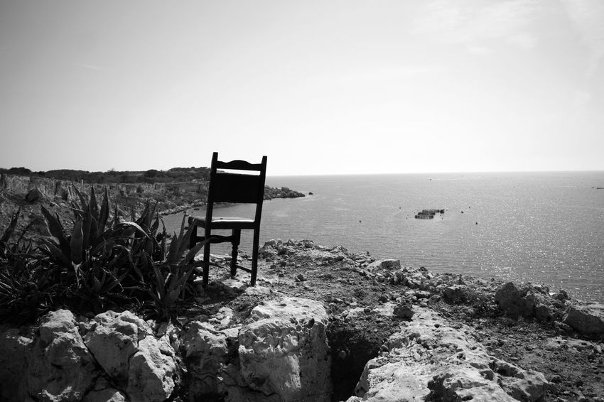 Black And White Adobe Beach Black And White Canon Go Pro Photography Malta Mellieha Sunny Day
