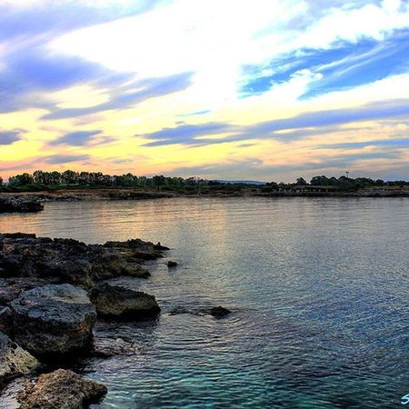 Asparano coast..The best near my home!!Italy Sicily Siracusa Ognina Coast Sea Bluesea Swimming Blue Bluesky Relax Nonoise Quiete Earth Ecosistema Awesomeplaces Healthylifestyle Healthyliving Healthylife Rocks Relaxplace