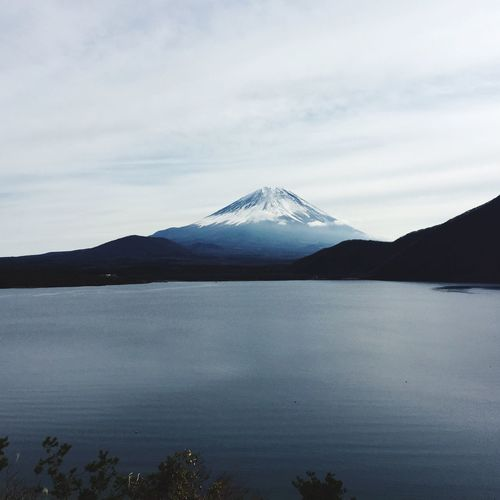 Japan Mt.Fuji Motosuko SENEN Taking Photos Lake Lake View Mountains Mountain Mountain View