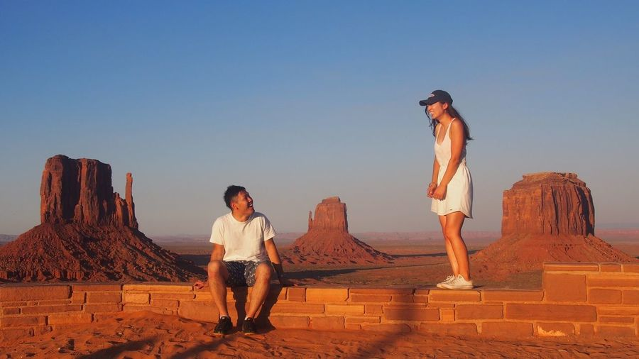 Enjoy The New Normal Monument Valley Utah Sunset