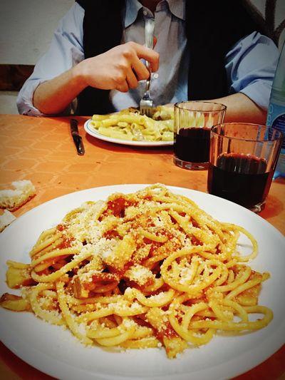 Osteriademizia Cibo Friend Sabatosera  Semagnasempre Tutto Amatriciana Carbonara Romanella Panzaaaaaaaaa !!!
