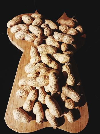 peanuts Peanuts 🥜 Wood - Material Yesterday Night EyeEm Selects Black Background Close-up