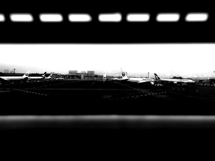 parking lot Blackandwhite Black And White Airplane Travel Travel Photography Silhouette Close-up