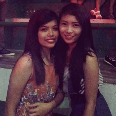 """With my dearest friend @babyeuriz ;""""> Had our noght together ;)) Asian  ShoutOuts Shoutgirls Igfame pinay lastnight ball night"""