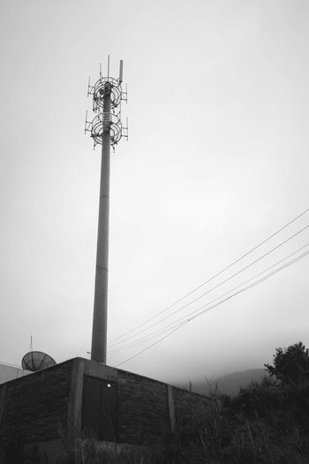 东川超级基站 Phoneography 365 Project Of Virgolcj 行色摄影 Working Base Station Tower B&w Photography Landscape What I Value PhonePhotography