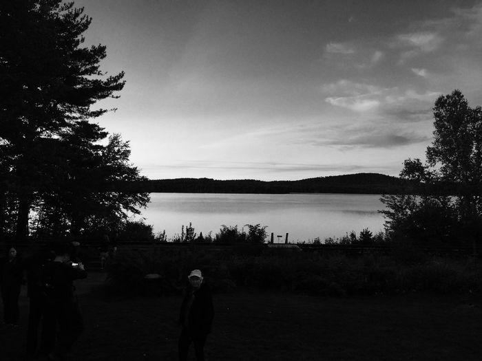 Lake Clear Nature Adirondack , New York, USA