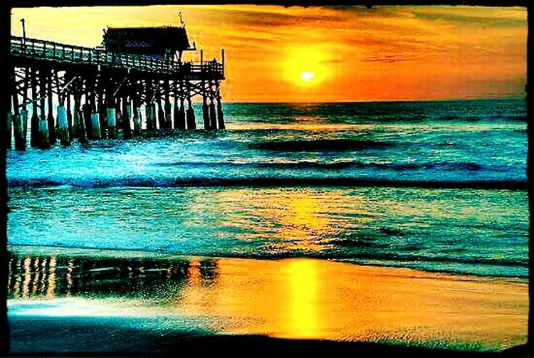 Cocoa Beach Being A Beach Bum Enjoying The Sun Enjoying The Sunset How's The Weather Today? Everday Joy Photos Around You Playing With Filters