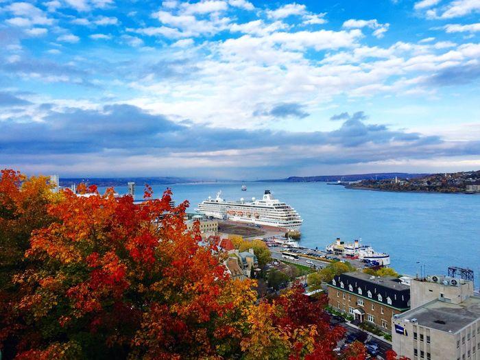 Quebec At Terrasse Dufferin Saint Lawrence River/Fleuve Saint-Laurent